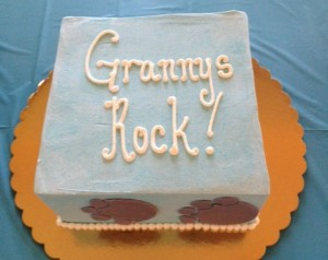 Grandma to-be showers, a growing trend