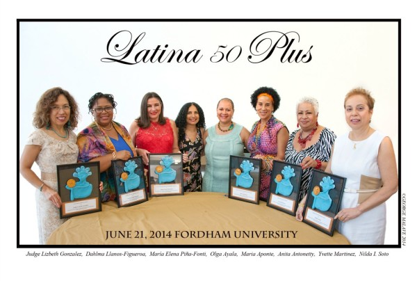 Latinas 50 Plus Honored in New York City