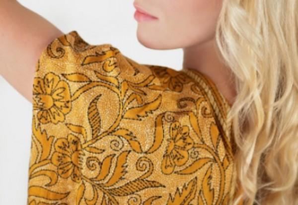 Silk tops & stoles for menopausal women