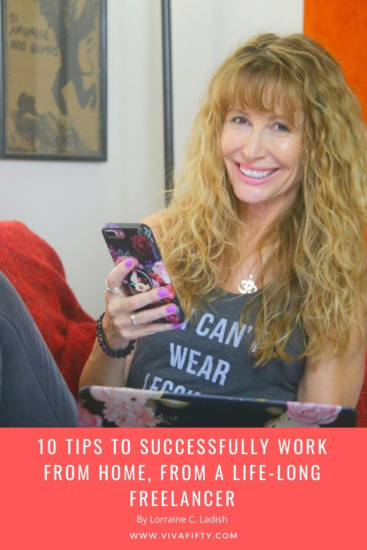 10 useful tips to cope with distractions and set up a productive environment when you work from home and maybe even have the children with you.