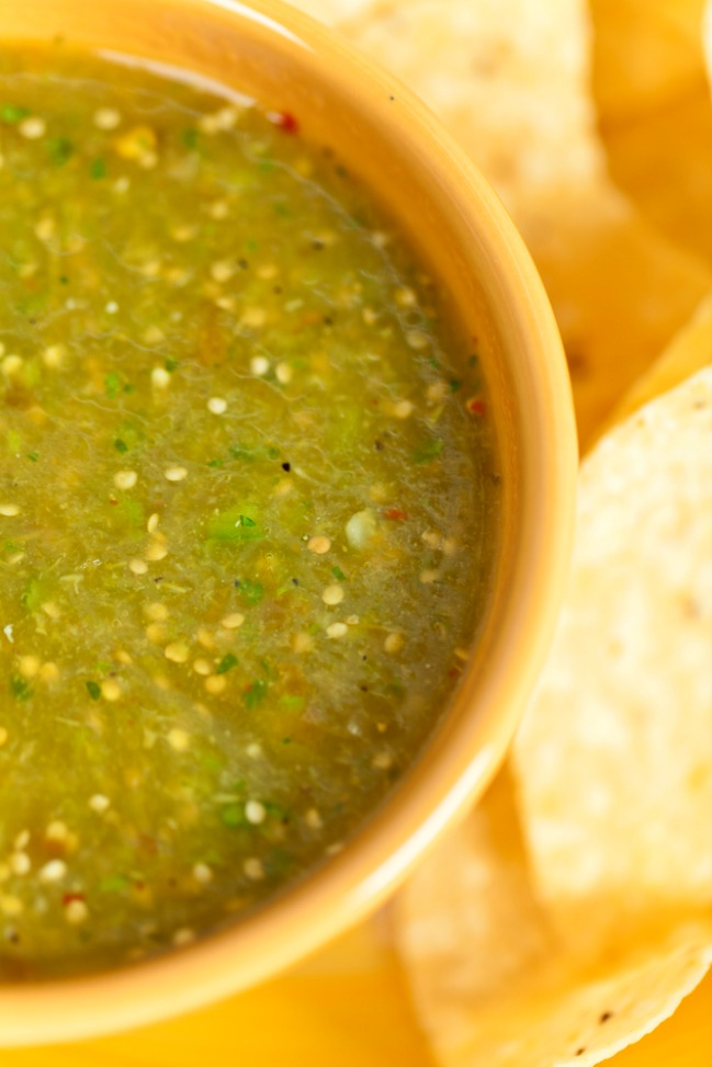 Salsa verde recipe that tastes like Mexico