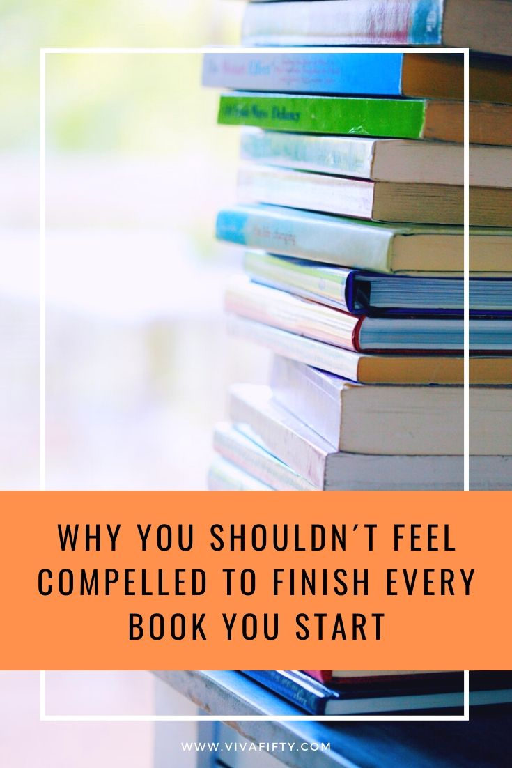 Reading one book a week, you can only fit 52 titles a year. With little time to waste, you can and should only read books that grab your attention. #reading #books