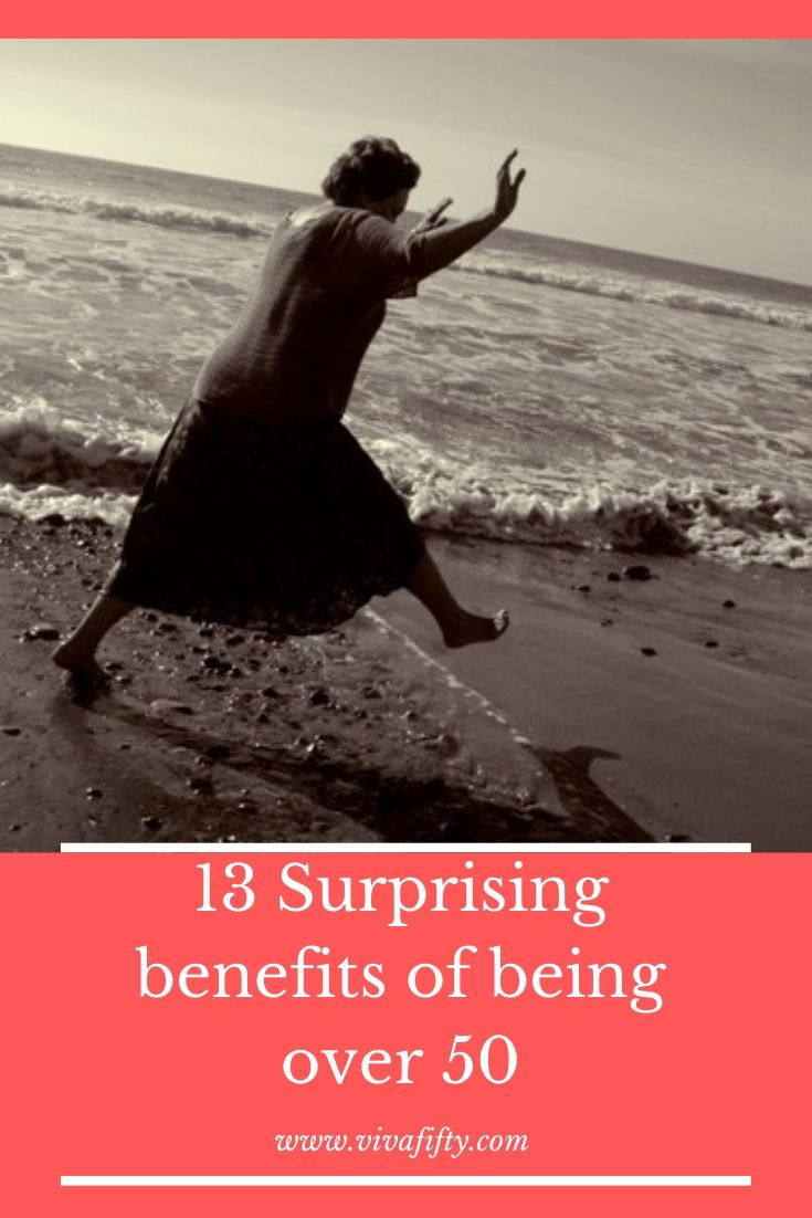 Some of the benefits of being over 50 may not seem that beneficial. But I´ve tried my best to dig up some positive side-effects of age.