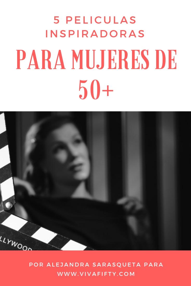 Como quien busca una aguja en un pajar, fui recordando películas que te harán sentir bien después de verlas. Estas mujeres son valientes y se animan a desafiar las reglas más allá de los 45 años. #medianaedad #cine #peliculas