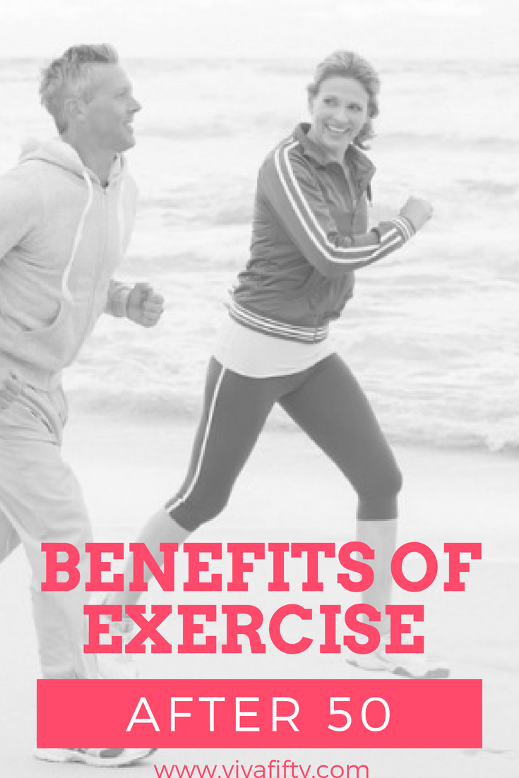Even if you've never exercised in your life, there's no reason not to start now. Exercise becomes especially important once you reach the age of 50 since that tends to be when we become more susceptible to illness, chronic diseases and depression. Being active and exercising regularly can actually help you fight the effects of aging. Here's how. #midlife #over50 #fitness #exercise