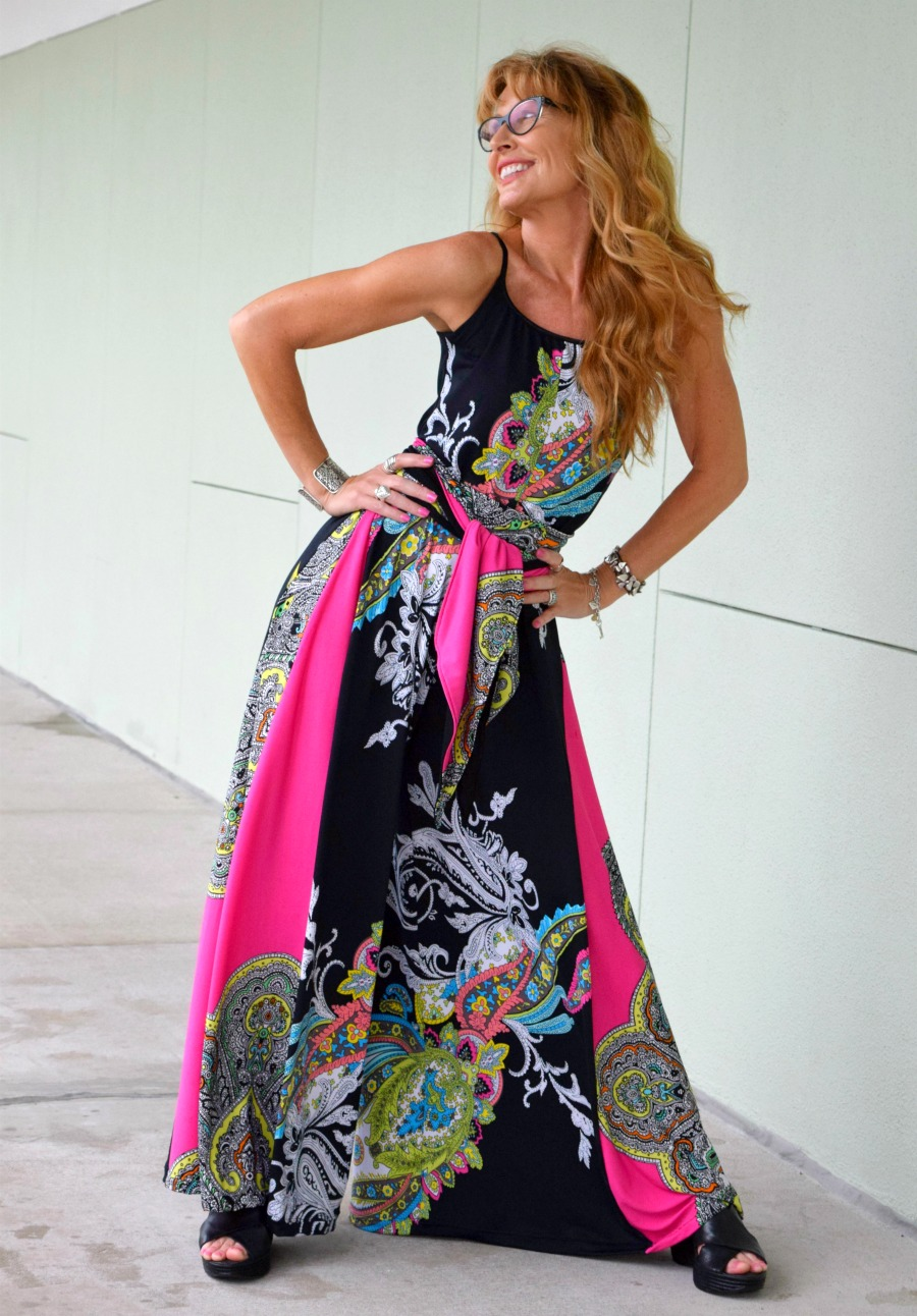 A showstopper palazzo jumpsuit for women of all ages