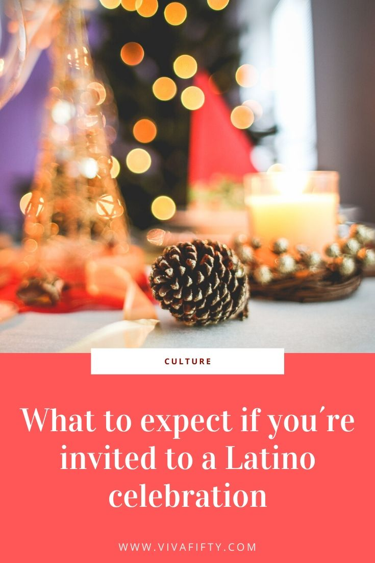 I love love being Hispanic, I love that I'm bicultural! But sometimes I wish it were a bit easier to leave a Latino party when I've had enough!