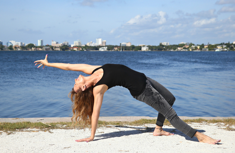 Yoga poses that help me with menopause symptoms