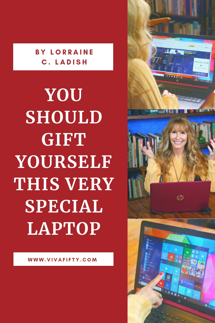 AD - Don´t miss out on a great gift for you this upcoming holiday! There´s a great deal on this HP Laptop powered by Intel® Octane™ Memory on QVC between November 17 and 24! #tech #intel #laptop #shopping #blackfriday