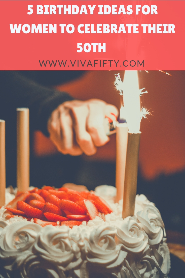 Every birthday deserves a big celebration, but turning 50 carries with it an extra wow factor. Here are some ideas for this special milestone. #turning50 #midlife #birthdays