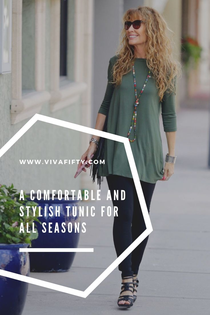 I love the tops and tunics by Covered Perfectly, which are designed to make women look and feel beautiful in midlife and beyond. #review #style #affiliate