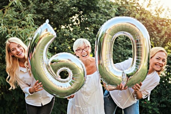 A 60th birthday celebration is a big deal in terms of quality of life compared to a few decades ago. Here are 60 ideas to get you to celebrate.