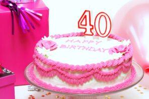 7 Birthday ideas for women turning 40