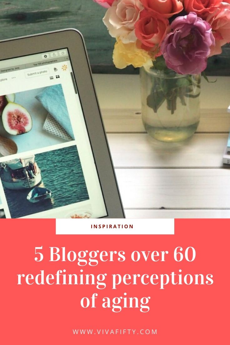Bloggers over 60 have experience, wisdom and wit. All important traits they share with readers of any age. Here are five we love.