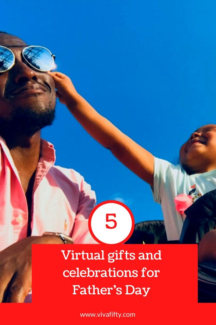 No matter the reason for not being able to spend the day with your dad or your children´s father, here are some virtual ways to gift and celebrate.