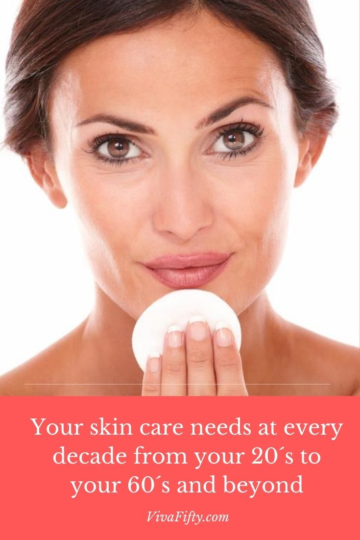 If you're wondering what effective skincare looks like at each decade, between your 20's and 60's here is a guide written from experience.