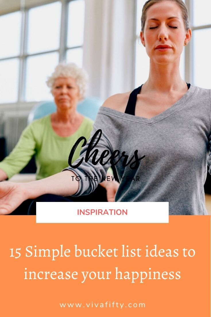Once we reach a certain age we may realize that, to be happy, we should kick our bucket list into high gear no matter our circumstances.