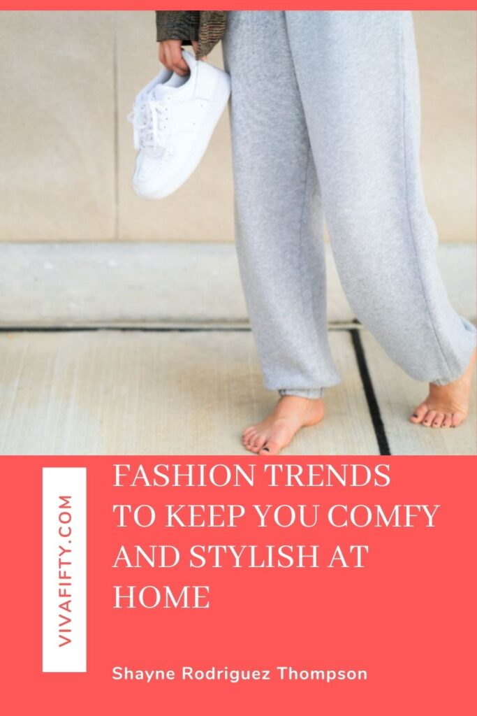 We're embracing the athleisure trend to help us stay comfortable and chic while we work from and stay at home.