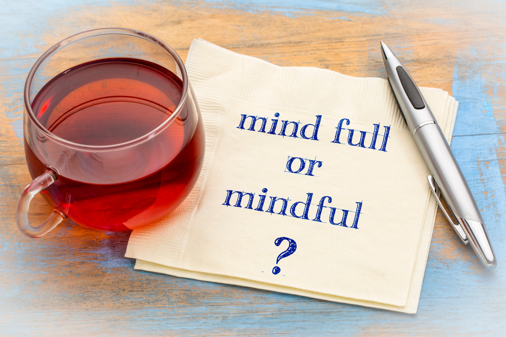Mindfulness, cup of tea