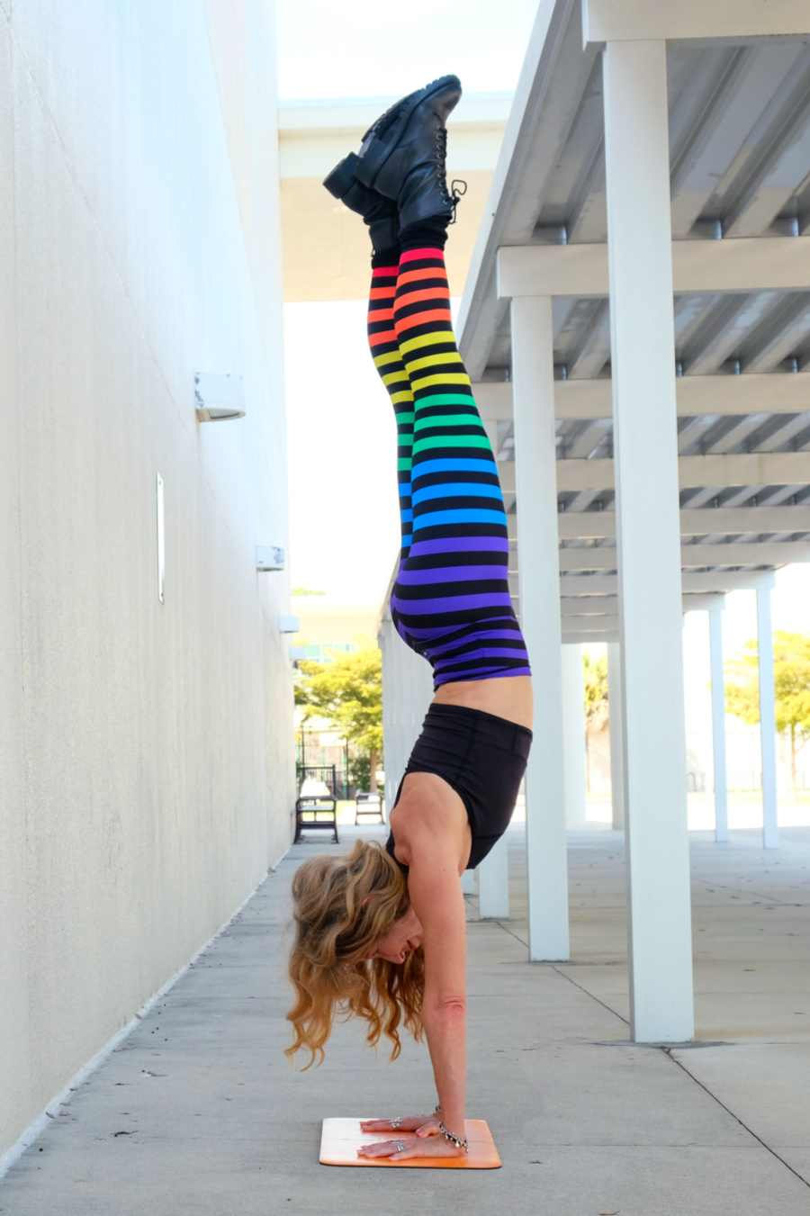 At 55 I set out to learn how to handstand by the age of 60. To my surprise, I accomplished it by my 57th birthday. What's next?