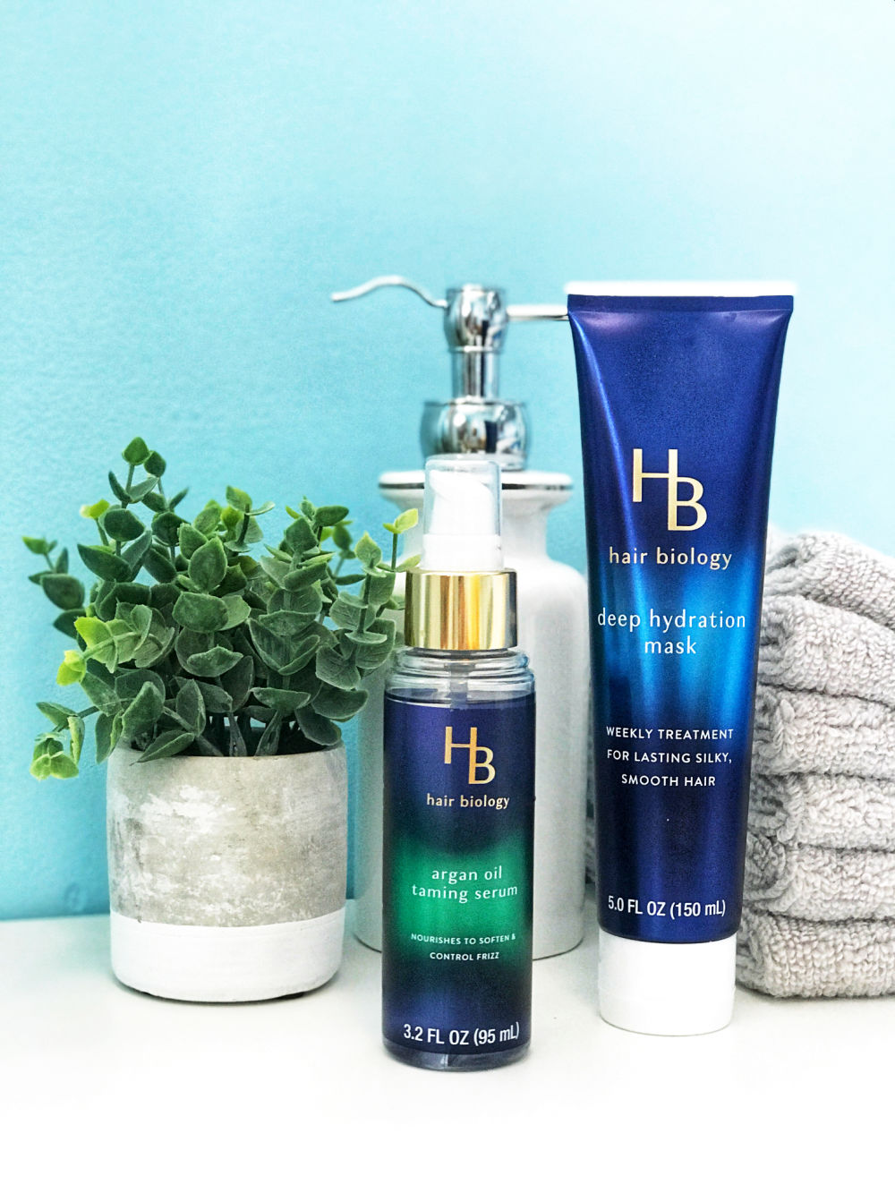 After over a year of using Hair Biology products, I'm sharing with you my ultimate favorites that even travel with me.