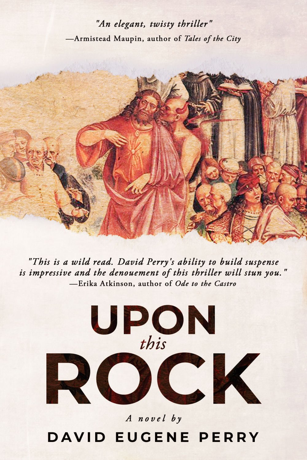 """Writing when one is more mature, settled, and less insecure is the perfect time to start a new adventure, David Perry, author of """"Upon this Rock"""" says."""