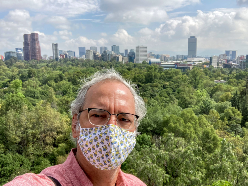 Phillippe Diederich in Mexico City